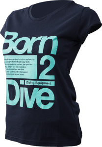 T-shirt GIRLS 2 DIVE