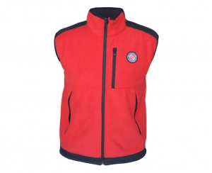 red BOSTON Vest